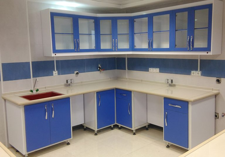 کابینتهای دیواری و زمینی آزمایشگاهی